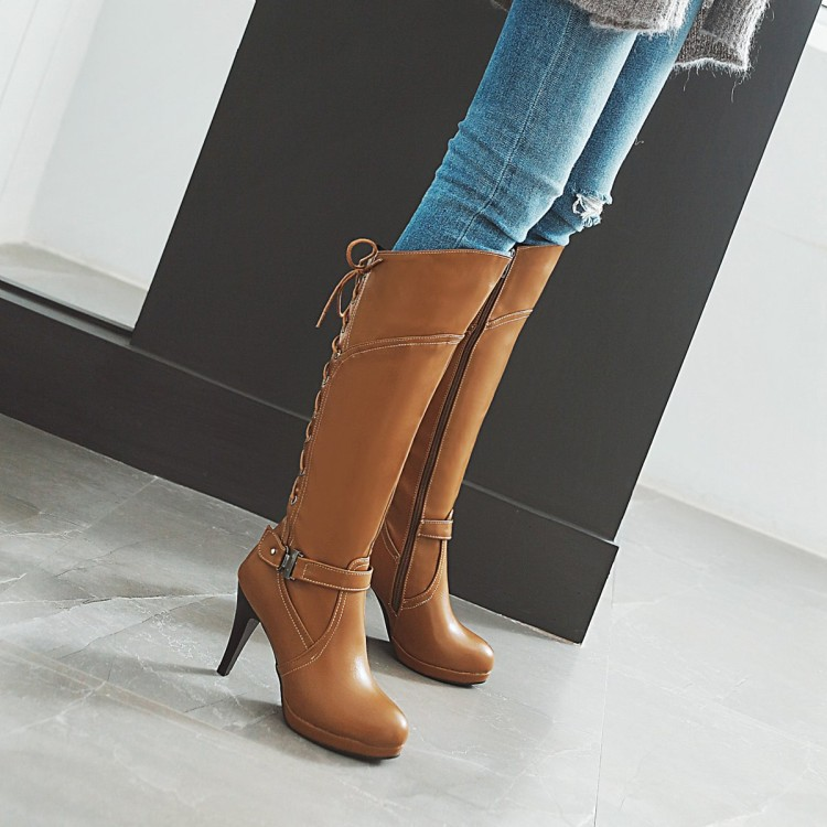 Over-the-knee Boots Boots Women Red Women's Boots Size Code 33-48 Ultra-High-Heel Thin Heeled 9.5 Cm