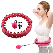 Esporte de fitness loop esporte inteligente hoop ajustável cintura fina exercício ginásio círculo anel equipamentos fitness treinamento em casa