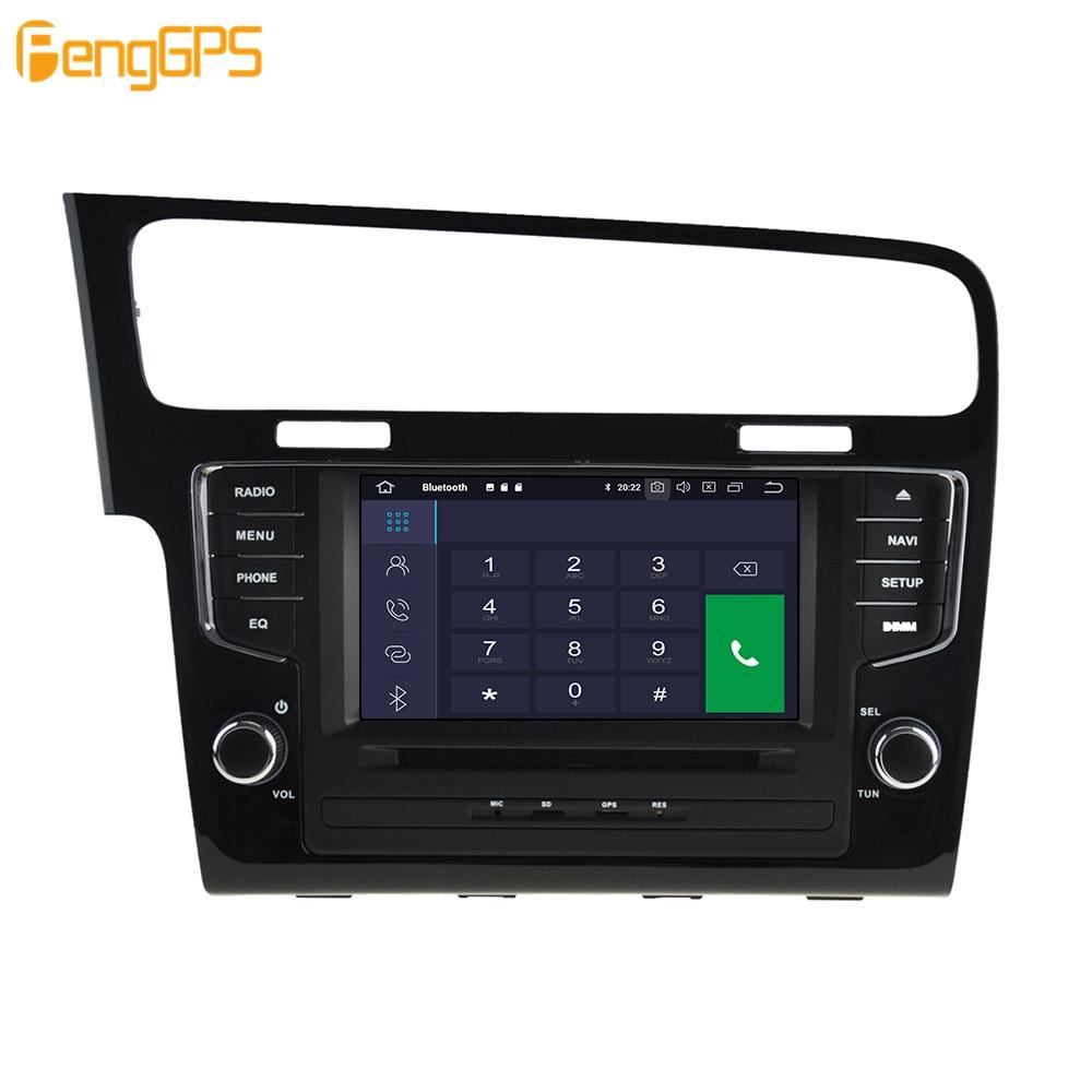 Android 9.0 4 + 64GB DVD player Eingebaute DSP Auto multimedia Radio Für VW Golf 7 2013 2017 GPS navigation Stereo Audio - 4