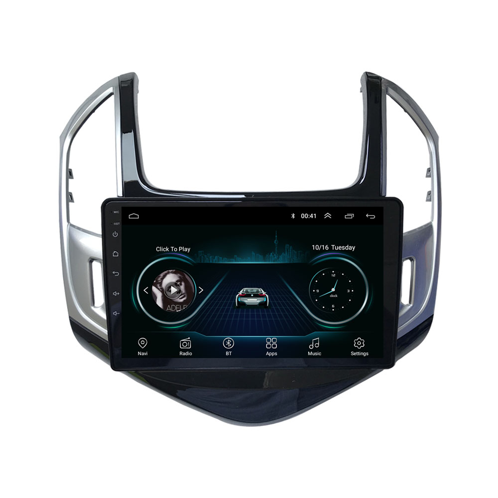4G LTE Android 8.1 For Chevrolet Cruze 2013 2014 2015 Multimedia Stereo Car DVD Player Navigation GPS Radio