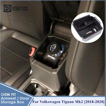 Tiguan Mk2 2018 2019 2020 Armrest Box For Volkswagen Tiguan Mk2 Car Storage Organizer For VW Volkswagen Tiguan Mk2 Car Organizer фото