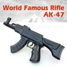 Kinder DIY Aufklärung 4D Assembly Building Block Spielzeug Pistole AK-47 Kombination Gun Military Serie Haben Gute Qualität