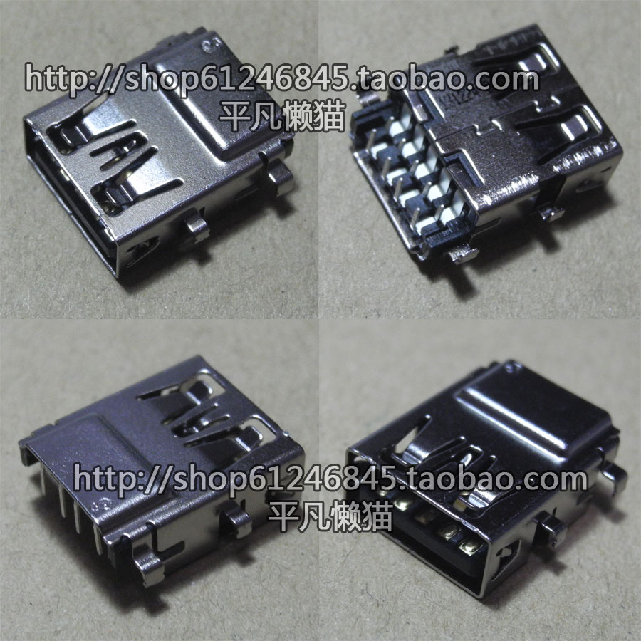 New USB Motherboard Interface DC Power Jack For DELL Latitude E5470