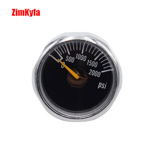 Image 3 - Airsoft PCP Air Rifle Gauge 2pcs 2000psi Luminous Mini Micro High Pressure Manometre Manometer M10 *1