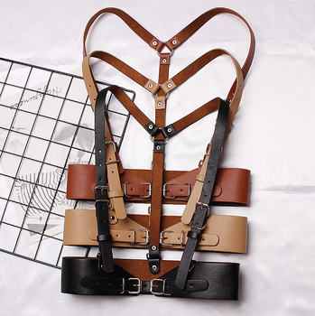 Fashion Tide Long Strap Belt