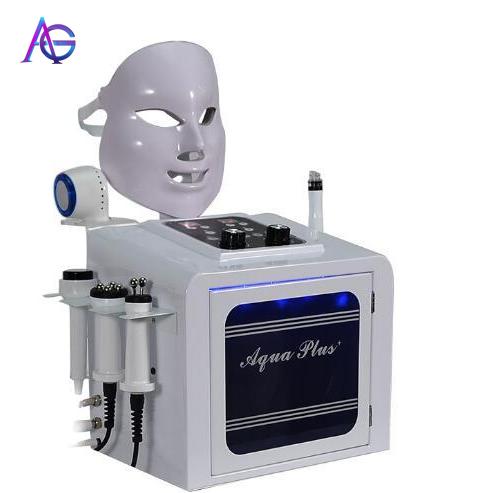 7 In One Professional Facial Deep Cleaning Shrink Pores Blackhead Remover Aqua Peel Beauty Salon Equipment