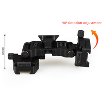 E.T Dragon Tactical Night Vision  Mount Adapter Adjustable PVS-14 Binocular Bridge Adapter holder For Hunting GZ240231