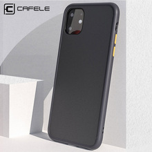 CAFELE New Phone Case For iPhone 11 Pro Max Soft TPU Edge with PC Hard Back Business Cover 5.8/6.1/6.5