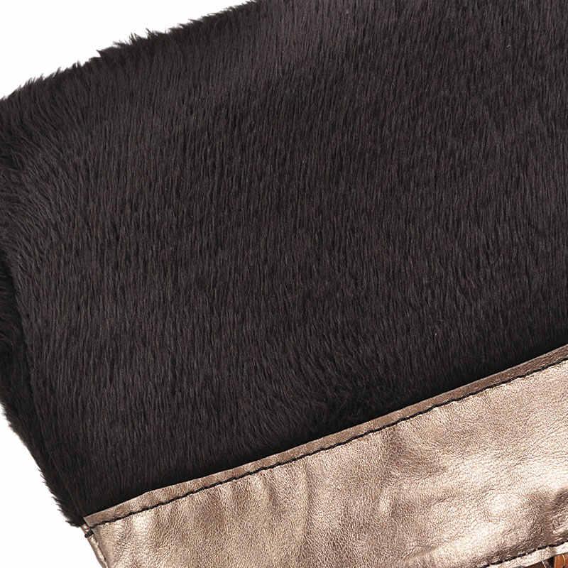 Lloprost Kế Plus Kích Thước Thời Trang Cao Gót Ống Cao Bồi Miền Tây Người Phụ Nữ Màu Vàng Xanh Dương Hiệp Sĩ Đen Dài Giày Mùa Đông Nữ giày