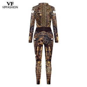 Image 3 - VIP FASHION High Quality New Long Sleeve Zipper Suit Cosplay Costume Steampunk Party Costumes Cosplay