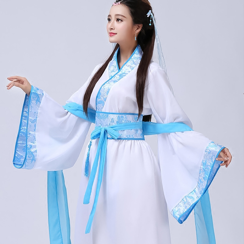 Traditional Chinese Dance Costume Ancient Dance Costumes Hanfu Women Ancient Imperial Concubine Hanfu