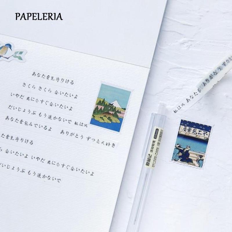 46Pcs//Box Kawaii Stationery Stickers Journal Stickers Kids DIY Diary Su KQ