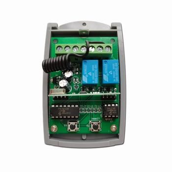 Cardin Remote Switch 433.92MHz 433MHz Rolling Code & Fixed code Receiver for CARDIN garage door gate 433 92mhz receiver for cardin s449 rolling code remote control for cardin garage door gate