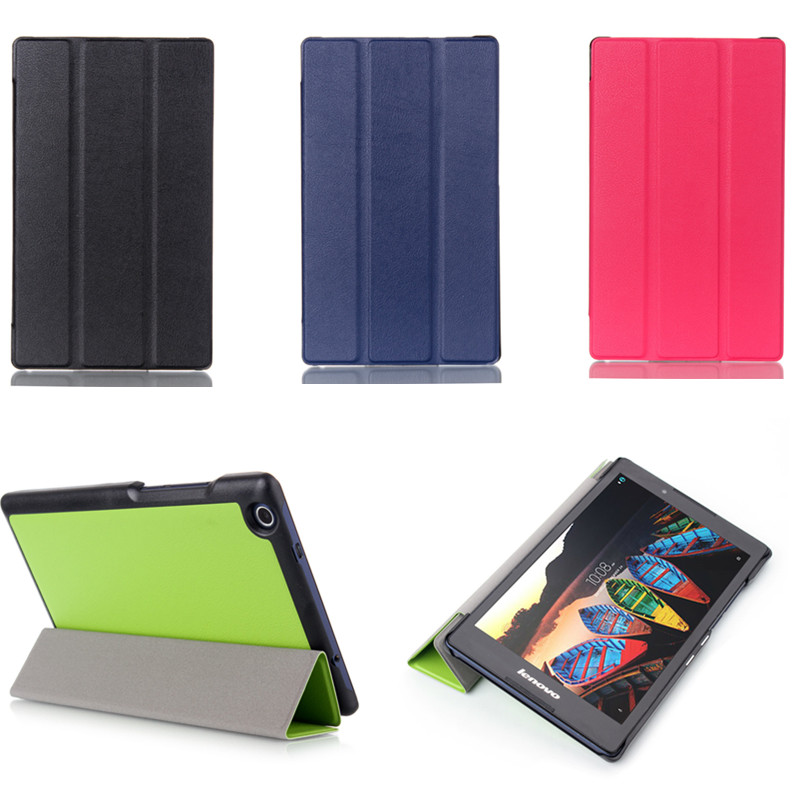 Business PU Leather Magnetic Stand Case For Lenovo Tab 3 8 TB3-850F TB3-850M TAB2 A8-50F A8-50LC 8