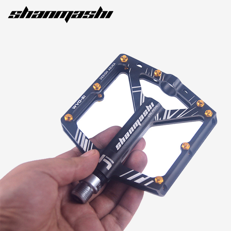 Ultralight Mountain <font><b>Bike</b></font> 8-Bear <font><b>Pedal</b></font> Aluminum Alloy Road <font><b>Pedal</b></font> Bearing CNC MTB Anti-slip <font><b>Bike</b></font> cycling <font><b>Pedal</b></font> Bicycle Accessories image