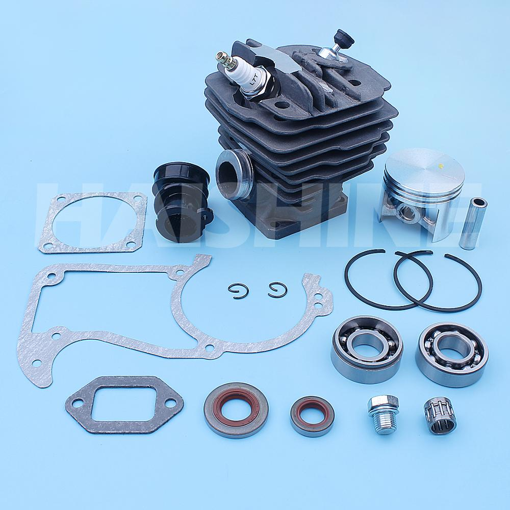 Tools : 48mm Cylinder Piston Intake Gasket Kit For Stihl MS360 036 PRO 034 AV Super Chainsaws Manifold Crank Bearing Oil Seal Candle