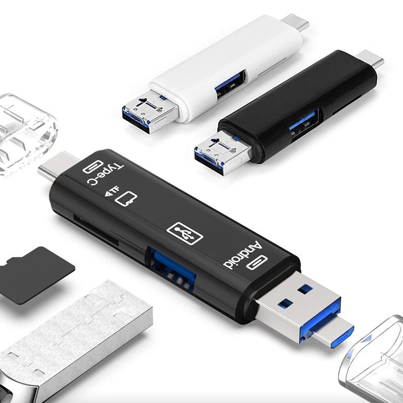 Usb 3.1 Card Reader High Speed SD TF Micro SD Card Reader Type C USB C Micro USB Memory OTG Card Reader