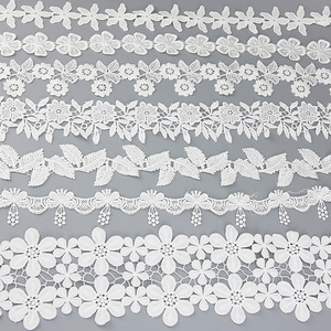 (1 yard) cotton trim lace fabric Webbing Decoration Love gift ribbons crafts