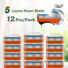 Shaving Razor Blades For Gillette Fusion 5 Face Shaver Cassettes Straight Razor Blade