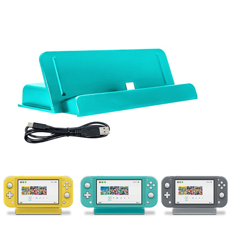 1 Set Handheld Game Console Charging Base For Nintend Switch Memory Card