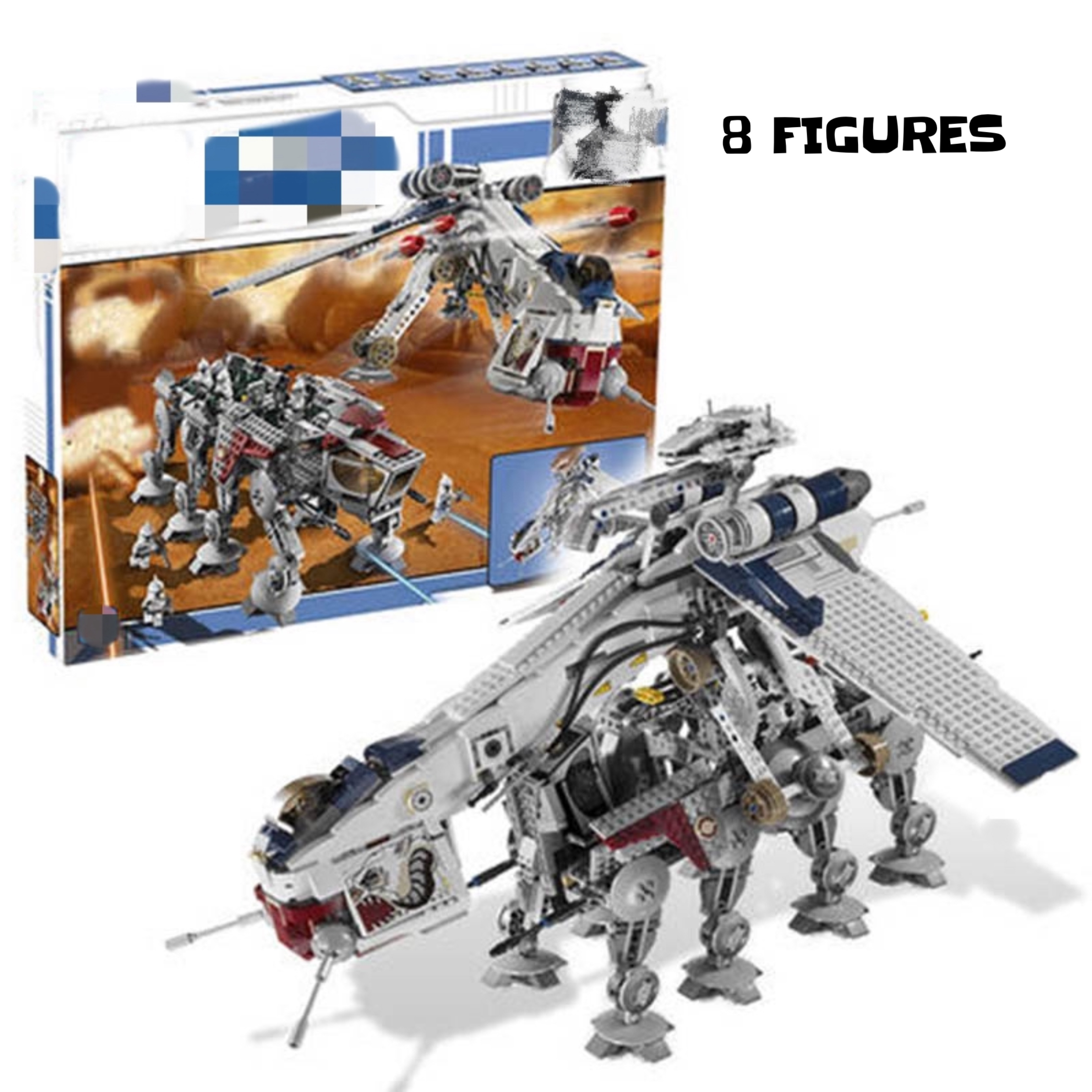 05053 Star Series Wars Plan The 10195 Republic Dropship Set Building Blocks Bricks Assembly Toys Kids Gifts 1