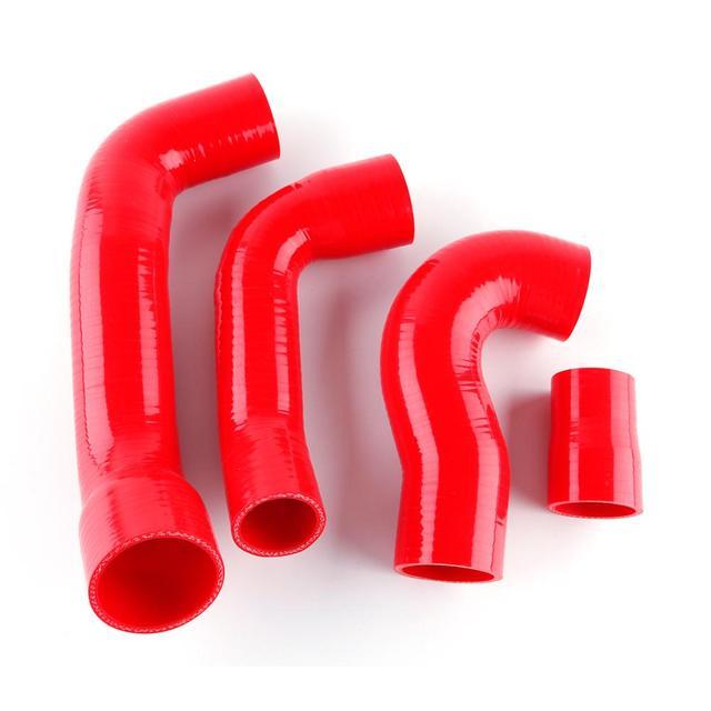 Para fiat punto 1.4 gt alta temperatura de pressão do desempenho do carro silicone turbo boost mangueira kit