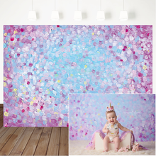 Pink Oil Painting  Photography Backdrops For Photo Studio Newborn Artistic Photo Background for Photography Birthday Backdrop nostalgic style flax cloth photography background accessories for fruit food tabletop shooting studio photo backdrop decorations
