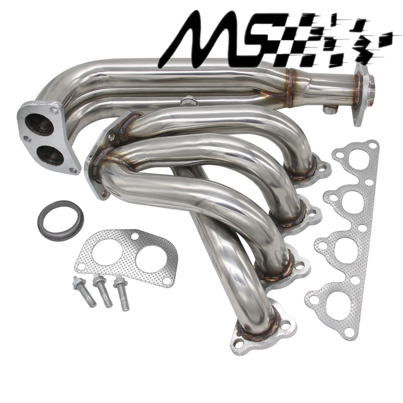 NEW STAINLESS STEEL PIPING HEADER MANIFOLD EXHAUST FOR Honda CIVIC EG EF EK EM 88-00