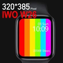 KIWITIME IWO W26 Smart Watch Series 6 44mm 40mm cardiofrequenzimetro Smartwatch collegato per uomo donna Andriod 5 8 26 12 13 telefono