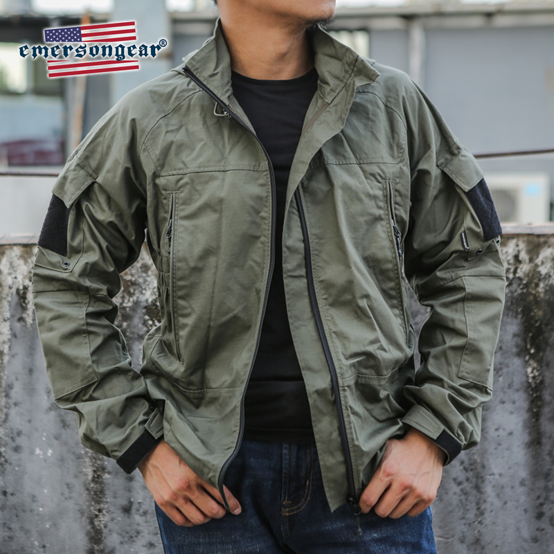Emersongear Tactical Jacket PCU Protective Combat Jacket Mens Outerwear Military Outdoor Casual Mens Jacket Windproof Clothing