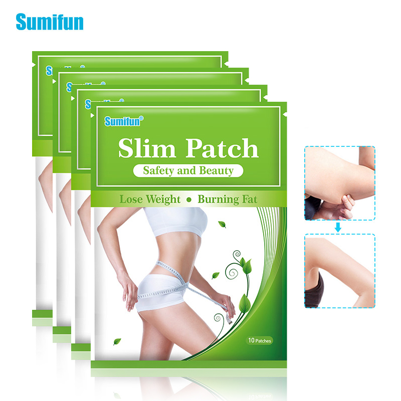40Pcs Natural Slim Patches Toxin Eliminating Weight Loss Anti-Cellulite Hot Body Shaping Sticker Anti Fat Plaster D2148