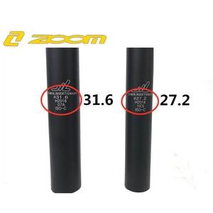 Image 3 - Zoom Mtb Bike Suspension Seatpost Shock Absorber Bicycle Seat Post Dropper Aluminum Shockstop Tube with Adptper Shim 27.2 31.6