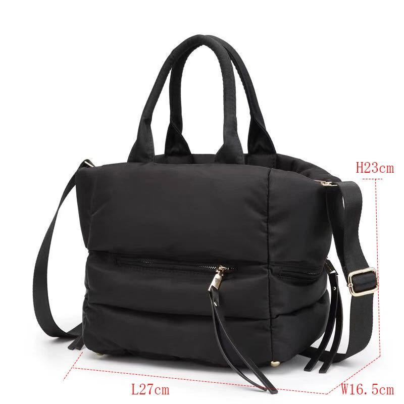 Casual Space Cotton Embossed Women's Portable Messenger Bag BDaypack Shoulder Bags Messenger Bag Travel Rucksack