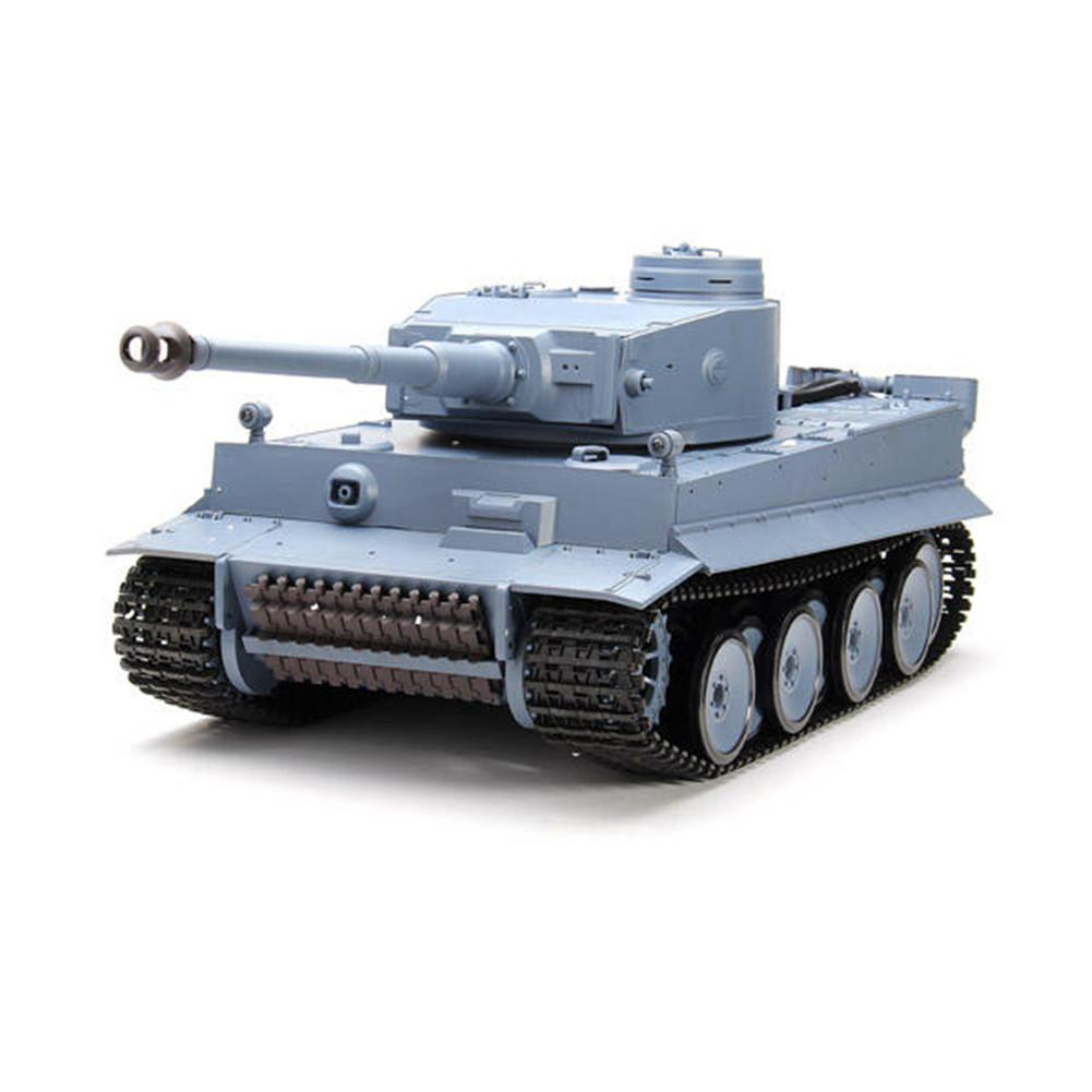 RCtown Heng Long 3818-1 2.4G 1/16 Germany Tiger I Tank Radio Control RC Tank Big Size Simulation Tank Children's Toy Model Gifts