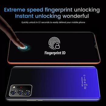 Note30 Plus Smartphone 6.1 Inch Dual SIM Smart Phone 4G Facial Unlocking 13MP+24MP Mobile Phone US Plug EU Plug 4