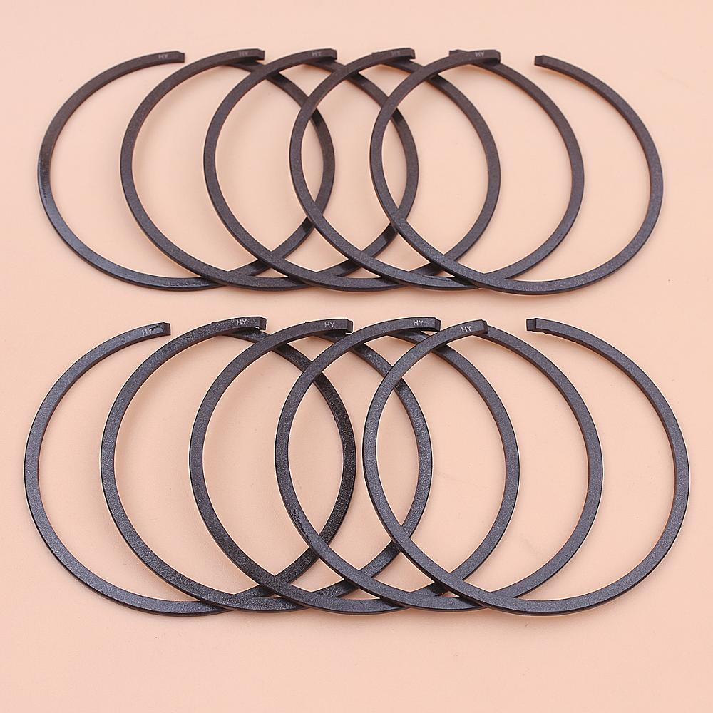 10pcs/lot 44mm X 1.2mm Piston Rings For Stihl 026, 026 Pro MS251 Chainsaw Tool Part 1121 034 3010