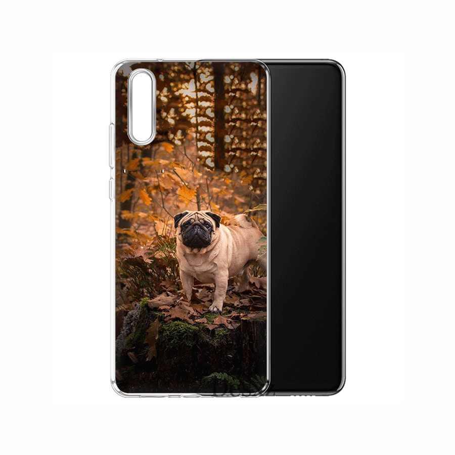 Điện Thoại di động Dành Cho Huawei P30 P20 P10 P8 P9 Lite Pro P Smart Z Plus TPU Chó Pug