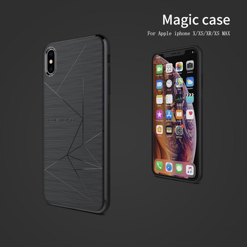 H592b9229b38941b7a39a7d4c136af9c2N NILLKIN Magic Case For iphone 8/8 plus/iphone x/xs/xr/xs max Magnetic Function Matte Phone Back Cover For iphone 8 phone bags