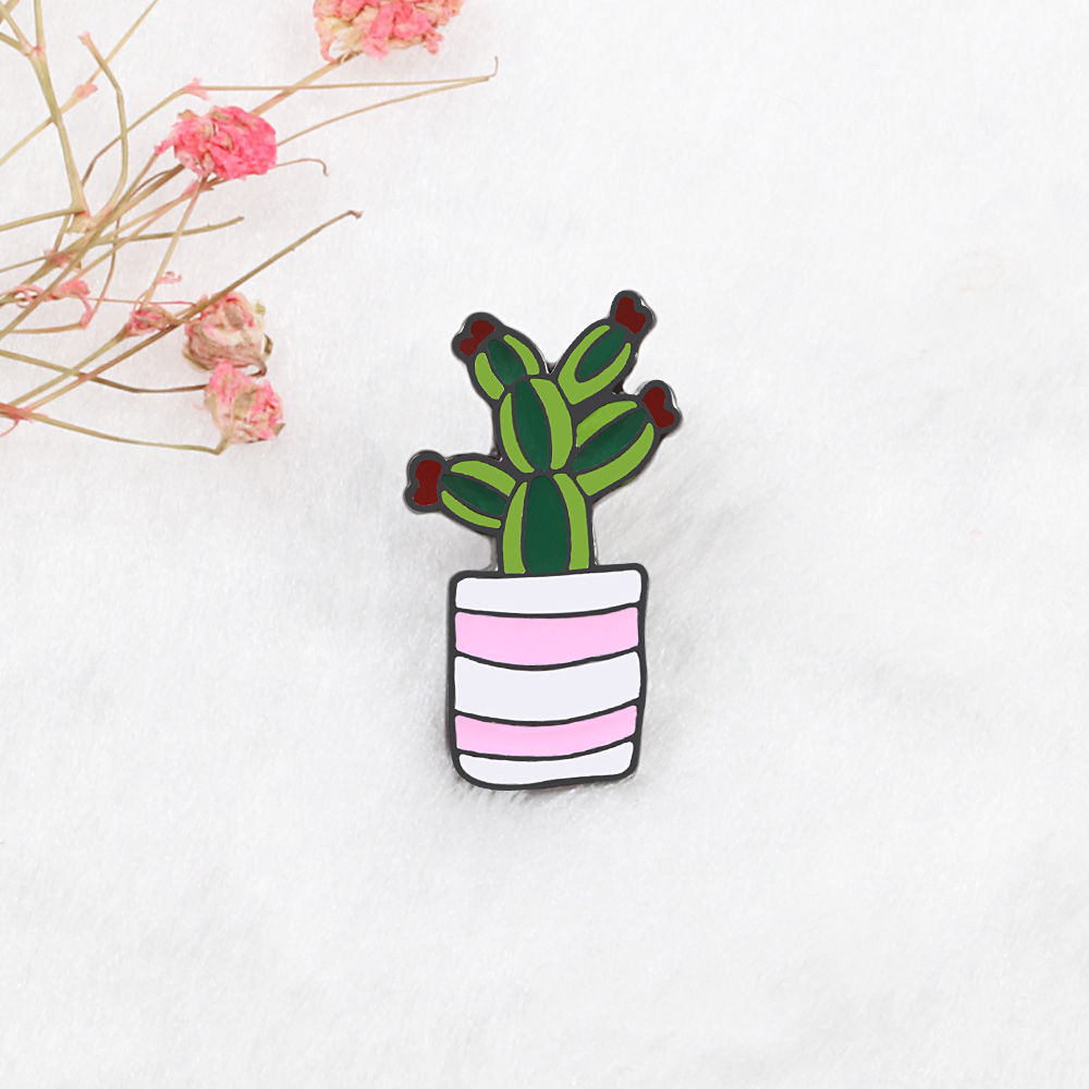Potted Plants Brooch Pins 3