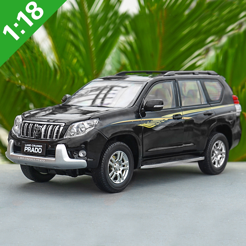 1/18 Simulation Diecast SUV Model Toyota Land Cruiser Prado Collection Model Toy with Box for Gift Toys