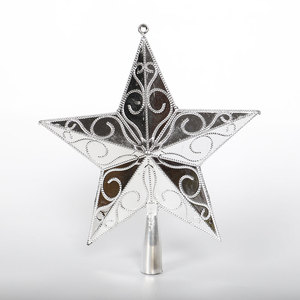 PVC Star Golden/Silver Ornamen