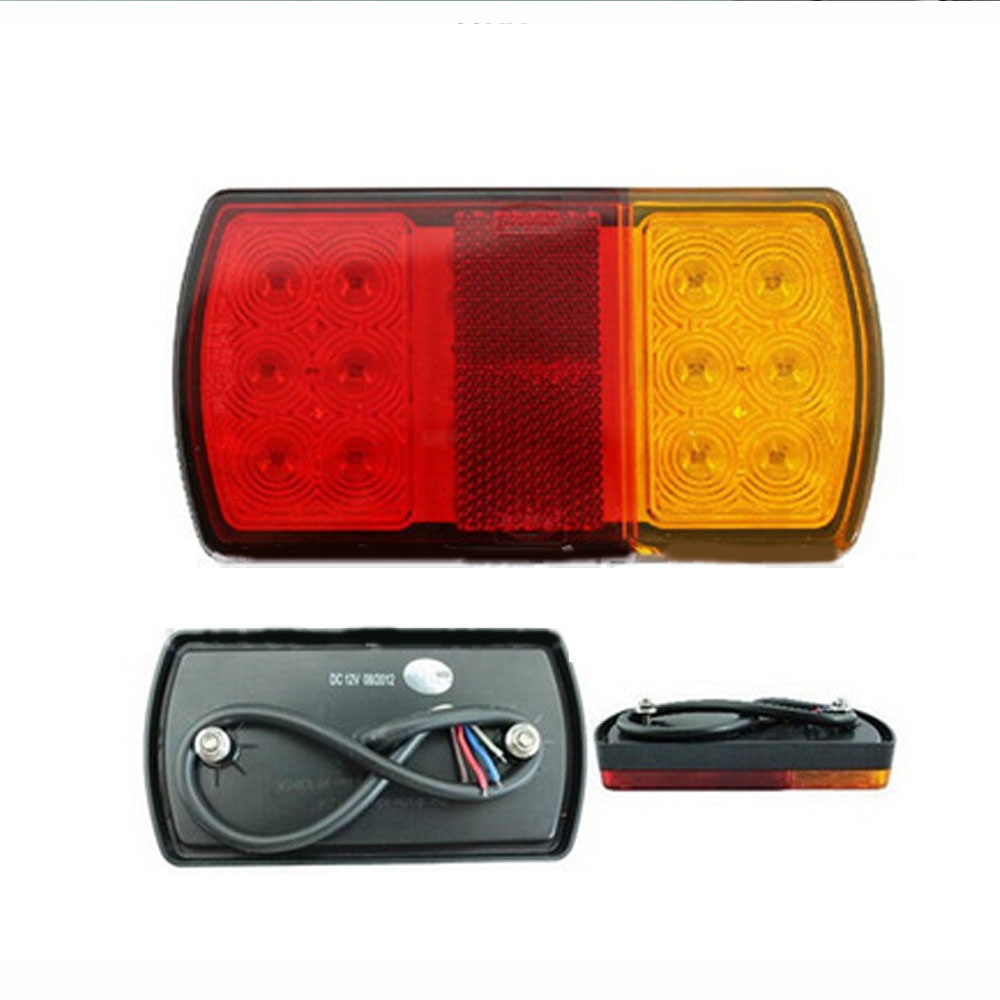 24V LED Tail Light Car Truck Trailer Stop Rear Reverse Turn Indicator Lamp Light Car Single Light