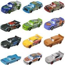 Disney Pixar Cars 3-pollito Hicks Jackson Storm Ramirez 1:55, vehículo fundido a presión, juguetes de aleación de Metal para niños, regalo de Navidad