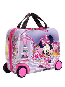 Wheel-Bag Suitcase Hard-Shell Portable Can Sit Gift-Box Multi-Functional Ultimate