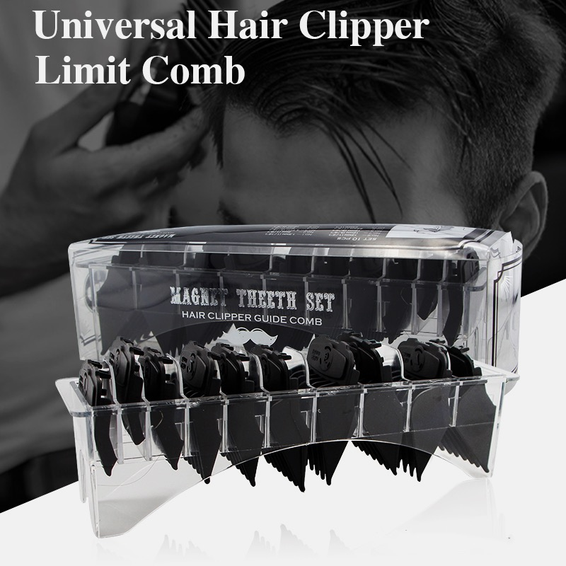 Electric-Clipper Comb Buckle-Limit-Comb Barbershop Magnetic Strong Guide Universal-Caliper