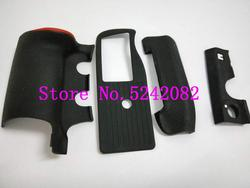 new original D4 Four set rubber for Nikon D4 rubber DSLR Camera repair parts