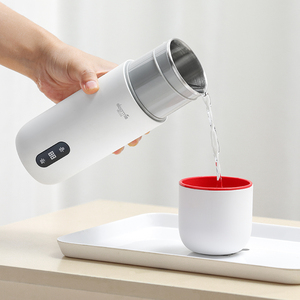 Image 4 - Deerma Portable Electric Cup Travel Hot Wtater Heating Cup 350ml Milk Travel Boilers Mugs Thermal Cups Tea Coffee Heater