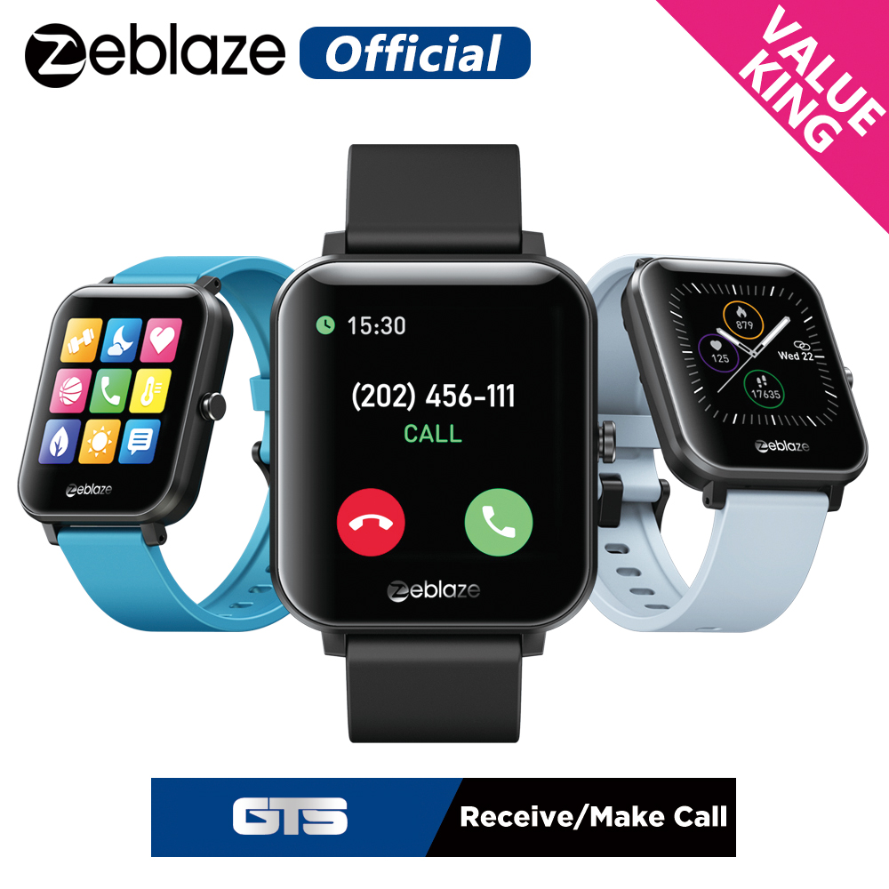 New Zeblaze GTS Bluetooth Calling Smart Fitness Tracker Receive Make Calls Multi Sports Modes 60  Watch Faces Smart Bracelet