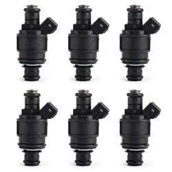 Areyourshop 6PCS Fuel Injectors MJY100620 Fit For LAND ROVER FREELANDER 2.5L KV6 2002-2005 Fuel Injector Car Auto Parts