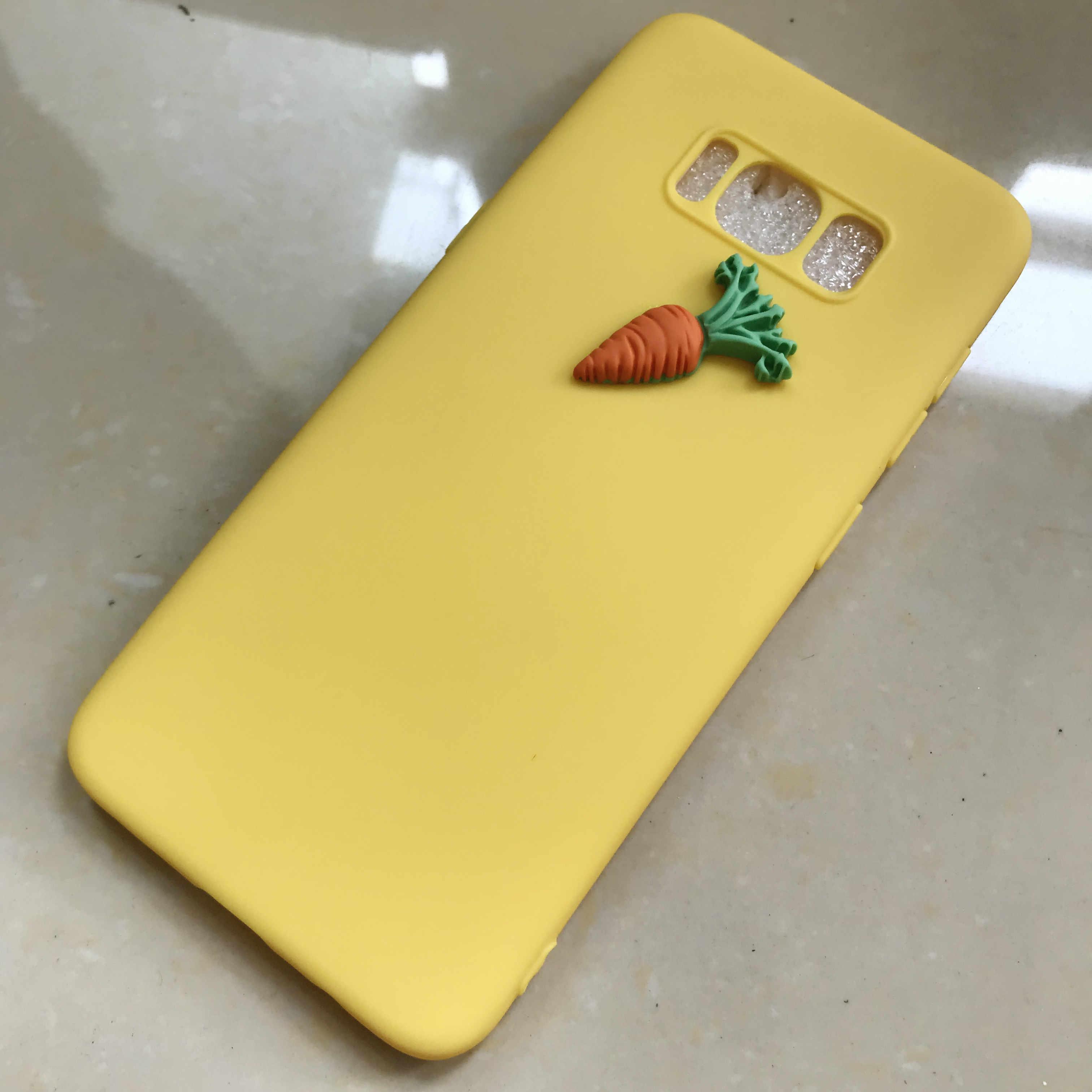 3D fruta de plátano de uva caja de dulces para Xiaomi Redmi 7 Y3 Nota 7 6 5 Pro Redmi 5 5a 6 6a K20 5 plus Note4x S2 suave cubierta posterior